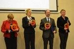 Reprezentanci organizacji-laureatów III edycji Certyfikatu